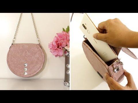 DIY BAG: Cute Bag Out of Cardboard