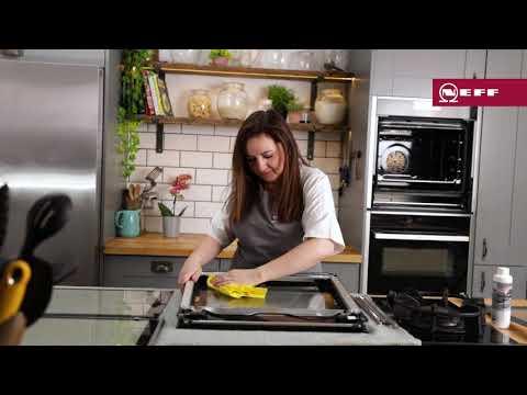 How to remove and clean your NEFF Slide&Hide® Oven door | NEFF UK