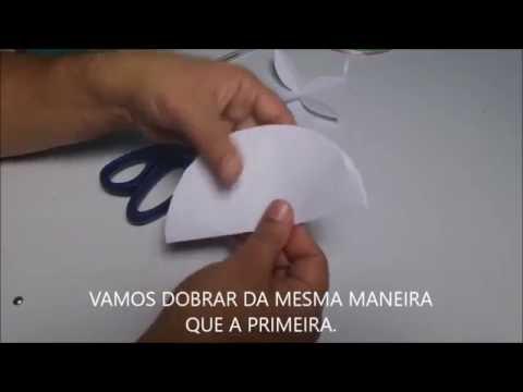 MOLDE PARA ROSAS DE E V A