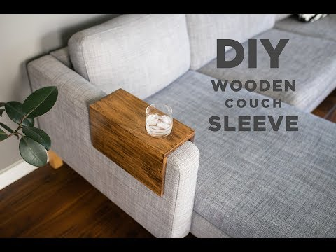 DIY Wooden Couch Sleeve | How to Make