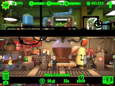 Fallout Shelter - EVERY ROOM MAXED OUT