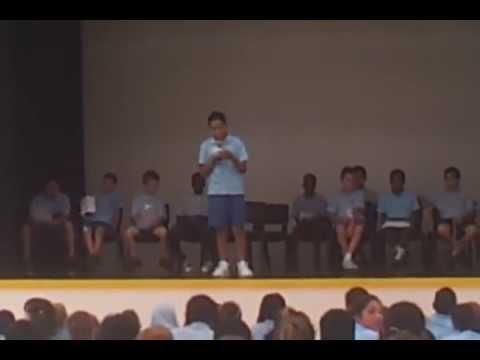 Anton's school captain speech for Serviceton South State School
