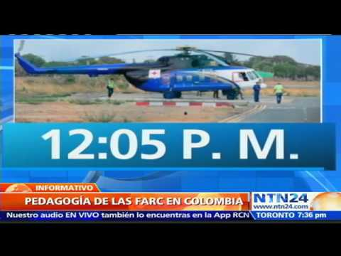 FARC aterriza en Cauca para cumplir visita pedagógica bajo las reglas pactadas con Gob colombiano