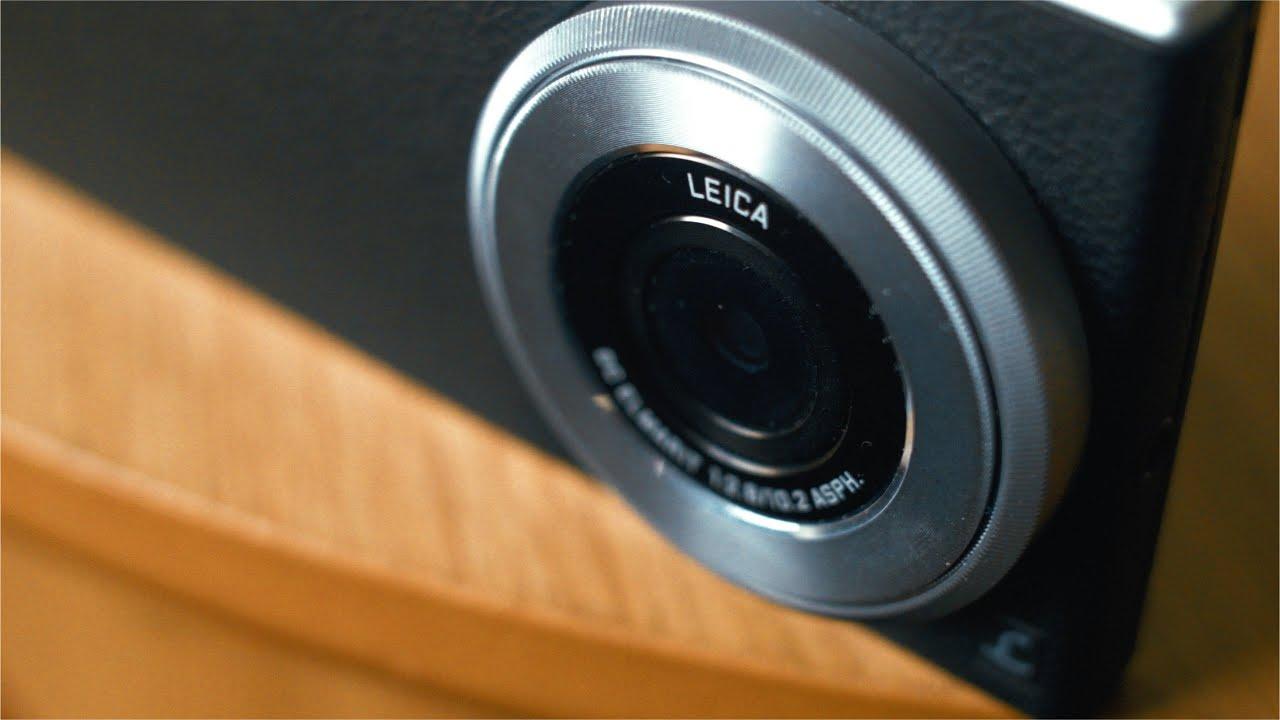 Panasonic's Lumix DMC CM1 is a smartphone camera hybrid for $1,000 .