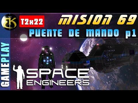 M69 2x22 Puente de mando parte 1 ► SPACE ENGINEERS ► Gameplay Español veg