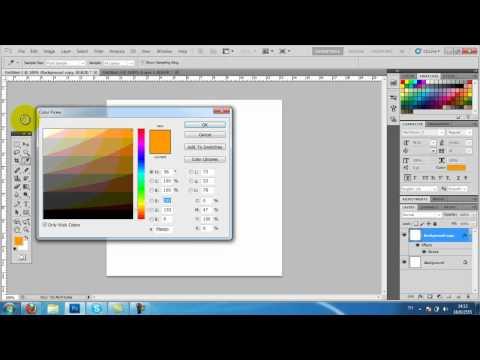 สร้างเส้นประ photoshop ด้วย Pattern