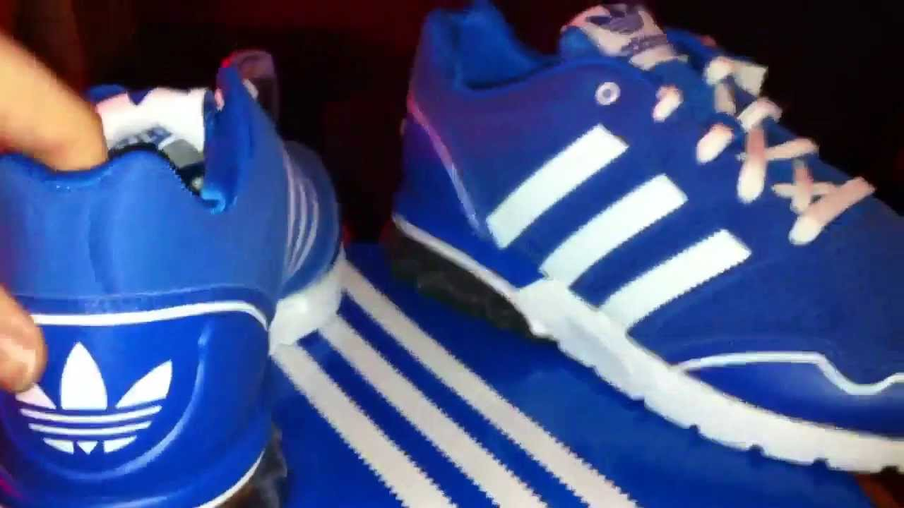 Adidas Mega Softcell RH (blue white) unboxing - YouTube 0b07c0f3a