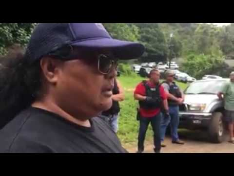 4 arrested following demonstration to protect Hawaiian burial site