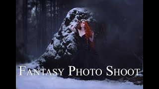 Behind the Scenes  - Fantasy Photo Shoots