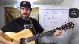 The Sus4 Trick - Free Guitar Lesson