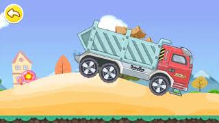 how Dump Truck  works, illustration Dump Truck, games Baby Kids