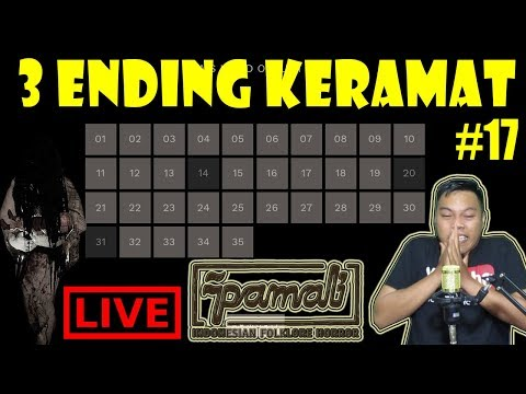 [LIVE] AYOLAH 3 ENDING LAGI :( - PAMALI GAME HORROR INDONESIA PART #17
