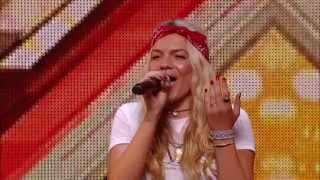 Louisa Johnson brings the Judges to their feet with