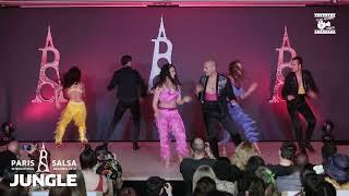 Adolfo Indacochea & Latin Soul Dancers - Showtime @ PARIS INTL SALSA CONGRESS 2019