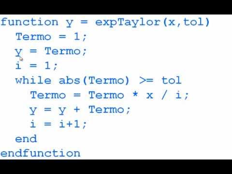 Modulo 11 2012 1 Parte 4 Serie De Taylor Para Exp X Youtube