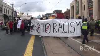 Anti-Muslim Group Confronts Anti-Racist/Fascist Activists