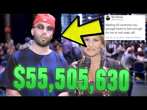 How This Trash Talker Became The RICHEST Poker Player Of All Time
