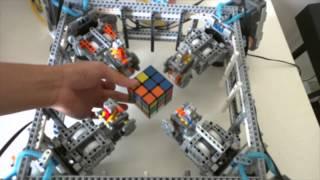 Lego Robot Rubik's Cube Solver
