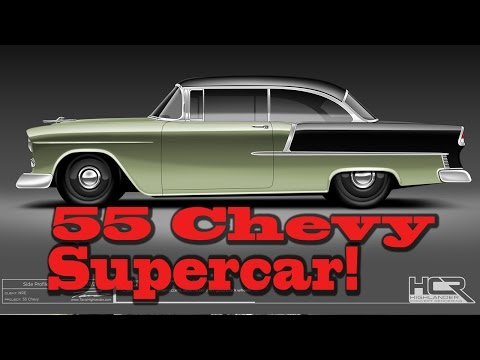How to Build a 1955 Chevy Supercar, with Tom Nelson, NRE.  Chevrolet Bel Aire.