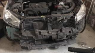 ТО часть 1: Снятие бампера, замена радиатора вариатора, контроль уровня NS-2 на Nissan Qashqai