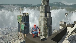 GTA 5 - SUPERHERO in a TSUNAMI! (GTA 5 Mods)