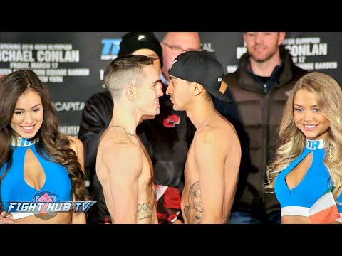 The Full Michael Conlan vs. Tim Ibarra Weigh in & Face Off Video