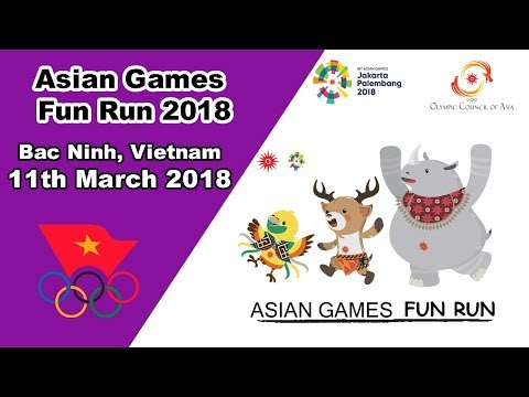 Vietnam Bac Ninh Host 3000 People Asian Games Fun Run