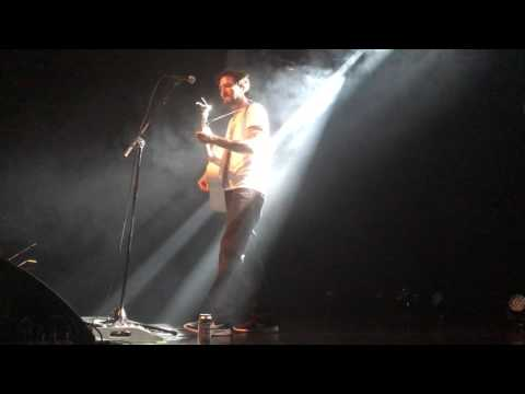 Frank Turner - Song for Eva Mea live in Linz, Austria (April 3, 2017)