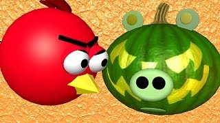 Halloween with some Angry Birds ♫ 3D animated Game Parody ☺ FunVideoTV - Style ;-))