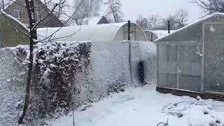 Зима в апреле. 11.04.2018.