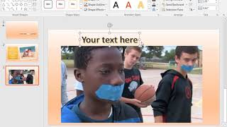 Creating a PSA Video (.mp4) using PowerPoint