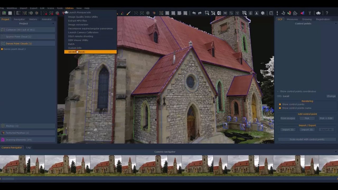 Architectural Reconstruction Using Photogrammetry And Laser Scan