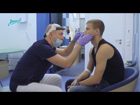 Александр Кокорин прошел медосмотр в ММЦ «СОГАЗ»