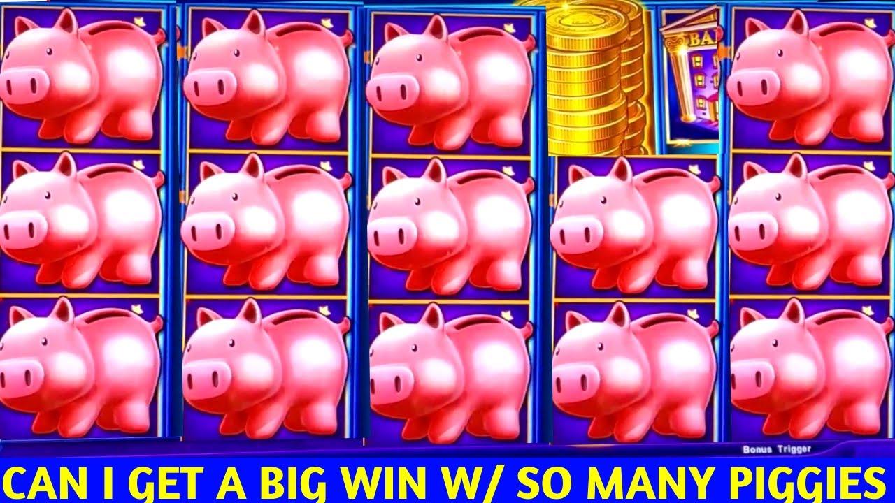 High Limit Piggy Bankin Slot Machine FIGHT  & HANDPAY JACKPOT | SE-3 | EP-14