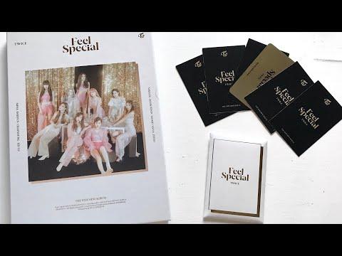 twice feel special album unboxing