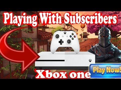 🔴 Playing With Subscribers (READ DESCRIPTION) Xbox one FORTNITE BATTLE ROYAL LIVE STREAM