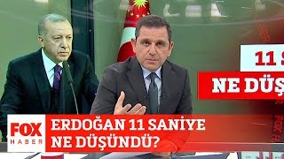 Erdoğan 11 saniye ne düşündü? 25 Şubat 2020 Fatih Portakal ile FOX Ana Haber