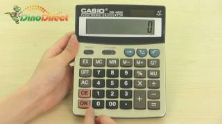 Portable 12 Digits CASIO Electronic Calculator DS-4600 - dinodirect