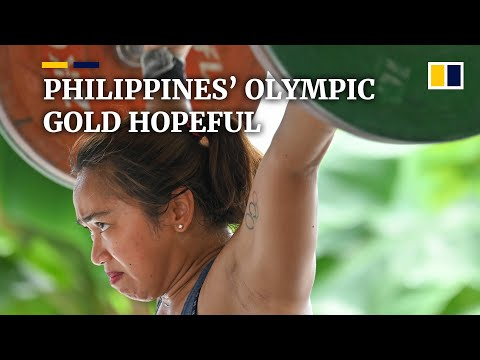 Female weightlifter from the Philippines eyes country's first Olympic gold at Tokyo Games