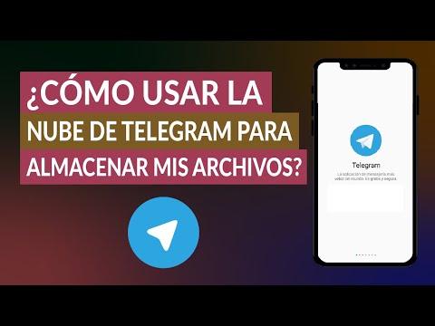 ¿Cómo Usar la Nube de Telegram para Almacenar mis Archivos?