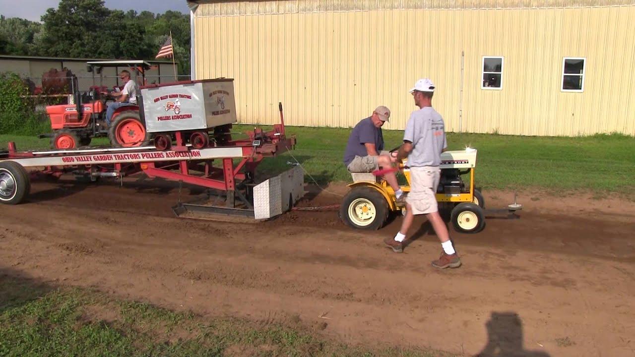 Garden Tractor Pulls at Reno (Ohio) VFD Ice Cream Social - YouTube