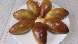 Пирожки с начинкой в духовке / Тесто на кефире