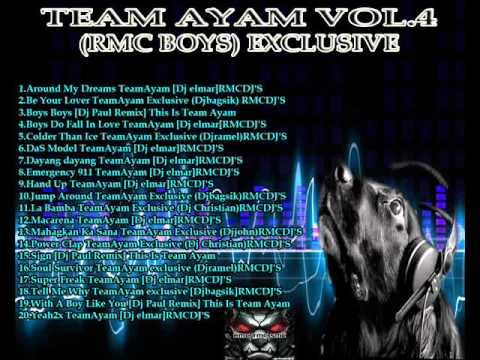 TEAM AYAM VOL.4 PREVIEW ROXAS MIX CLUB DJ'S