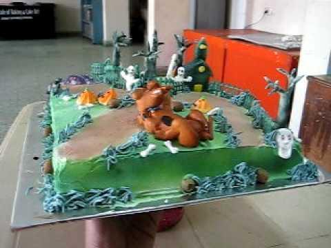 Scooby Doo Theme Cake