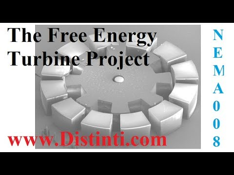 NEMA008: The Free Energy Ether Turbine / Starship propulsion project