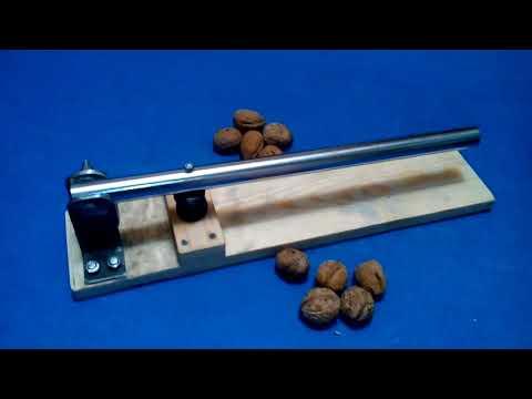 Орехокол для грецких орехов своими руками видео