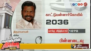 TN poll update: Setback for Thol Thirumavalavan in Kattumannarkoil constituency