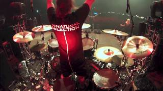 Suffocation Kevin Talley drum cam Pierced From Within