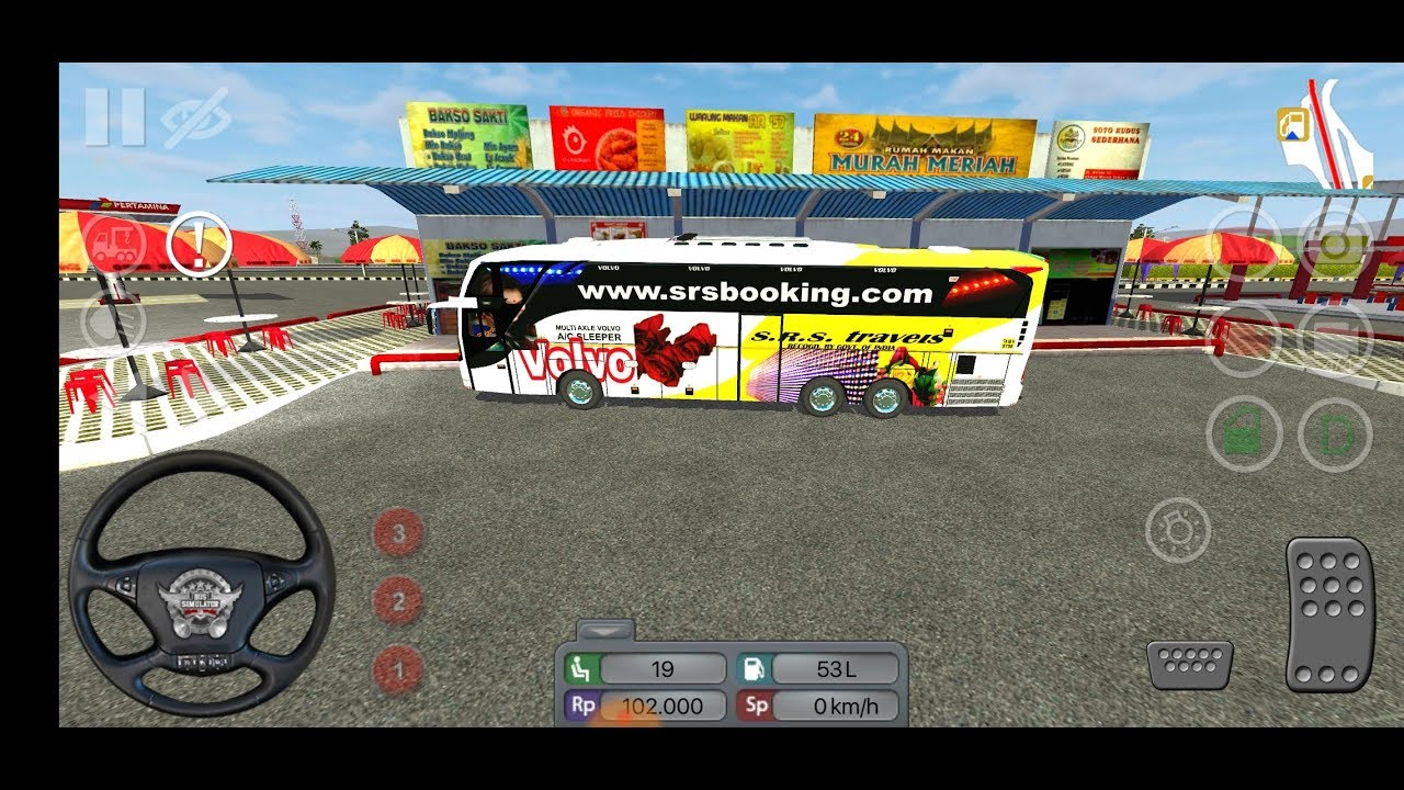 New Hotel for SRS Volvo travels (bus simulator Indonesia)
