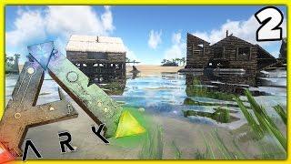 ARK: Survival Evolved- Episode 2: BOATS AND BOAT CUSTOMIZATION! (ARK Modded Server: Season 1)